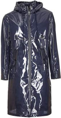 Helmut Lang Framed Long Raincoat