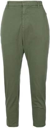 Nili Lotan high waisted cropped trousers
