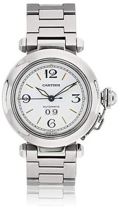 Cartier Vintage Watch Women's 2000s Pasha Watch - Silver