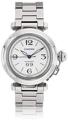 Cartier Vintage Watch Women's 2000s Pasha Watch - Silver