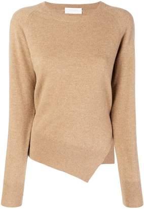 Zanone asymmetric hem sweater