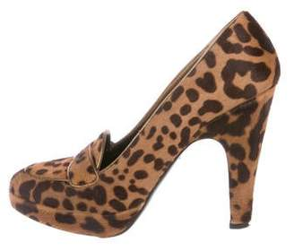 f87f4488a Prada Ponyhair Animal Print Pumps