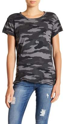 Current/Elliott The Crew Neck Camo Tee