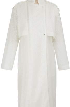 PASKAL clothes Guipure vinyl lace raincoat