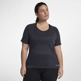 Nike Miler (Plus Size) Women's Short Sleeve Running Top