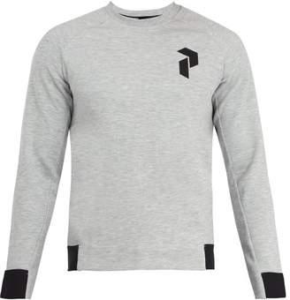 Peak Performance Crew Neck Performance Sweatshirt - Mens - Grey