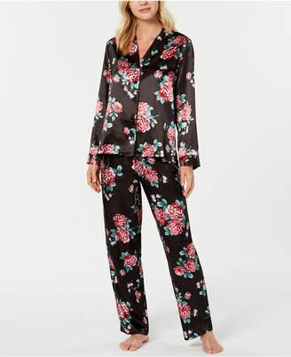 Thalia Sodi Floral-Print Pajama Set