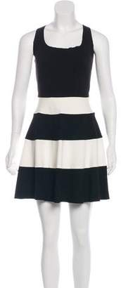 Intermix Striped A-Line Dress