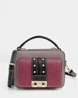 Frenchie Lover Leather Cross-Body Bag