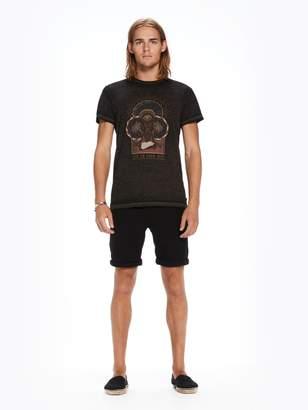 Scotch & Soda Burn-Out Artwork T-Shirt