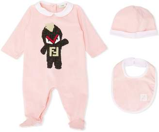 Fendi FF monster babygrow