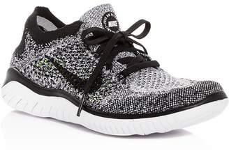 12aca20b851 Nike Women s Free RN Flyknit 2018 Lace Up Sneakers