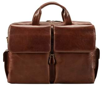 Maxwell Scott Bags Smart Italian Crafted Tan Leather Briefcase For Men