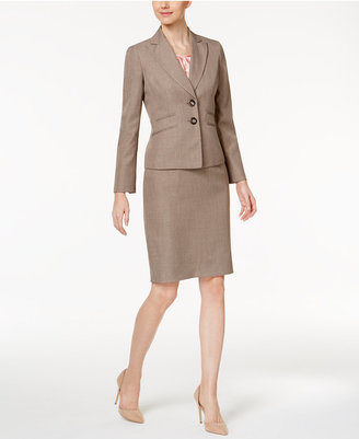 Le Suit 3-Pc. Four-Pocket Skirt Suit $240 thestylecure.com