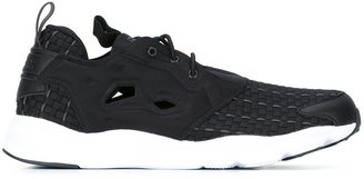Reebok chunky sole sneakers $86.61 thestylecure.com