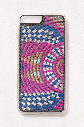 Zero Gravity Spiral Basket Embroidered iPhone Case