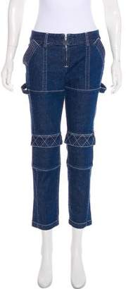 Opening Ceremony Mid-Rise Straight-Leg Jeans