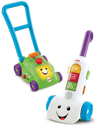 Fisher-Price Laugh and Learn Smart Stages Mower and Vacuum Assortment Toy