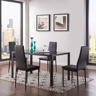 Mainstays Parsons Dining Table, Chairs Sold Separately