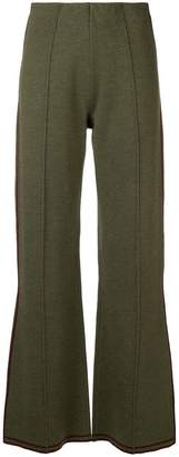 Sonia Rykiel side stripe trousers