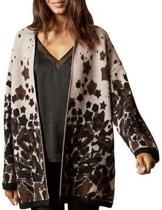Ted Baker Yazella Leopard-Printed Cardigan