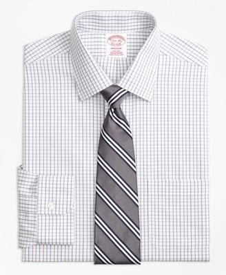 Brooks Brothers Madison Classic-Fit Dress Shirt, Non-Iron Tonal Check Windowpane