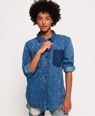 12bfe8c5 Women Oversized Denim Shirt - ShopStyle