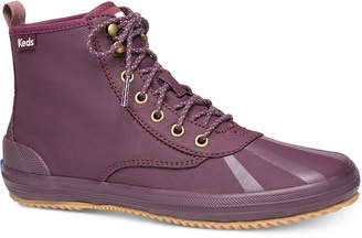 Keds Women's Scout Lace-Up Booties Women's Shoes