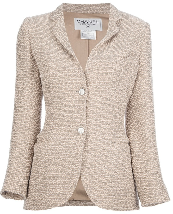 Chanel stitch detailed jacket