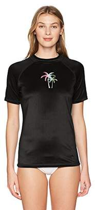 Kanu Surf Women's Hayley UPF 50+ Short Sleeved Active Rashguard and Workout Top