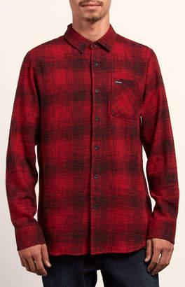 Volcom Buffalo Glitch Flannel Shirt