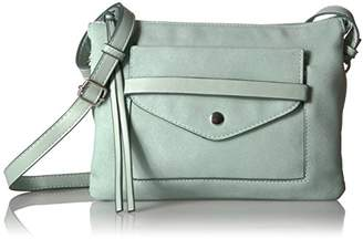 T-Shirt & Jeans Multi Compartment Front Pocket Cross Body