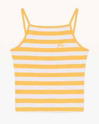 Juicy Couture Awning Stripe Ribbed Tank