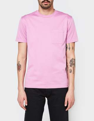Our Legacy Pocket T-Shirt Glow Pink Mercerized