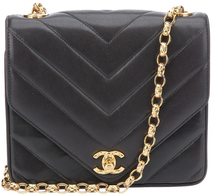 Chanel Vintage quilted chain bag