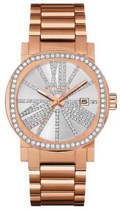 Bulova Women's Adele Crystal Bracelet Watch, 36mm
