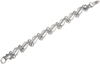 Carolyn Pollack Sterling Silver Lasting Connections Bracelet, 20.0g