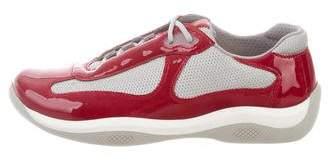Prada Sport America's Cup Low-Top Sneakers