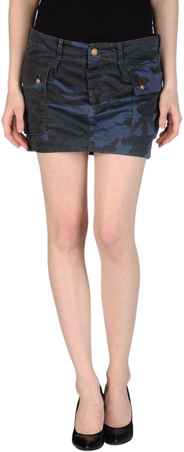 Monocrom Mini skirts