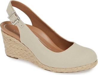 f5b5d79c1e1 Beige Espadrille Wedge Women's Sandals - ShopStyle