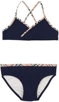 Burberry Lycra Bikini W/ Check Details