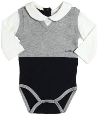 La Perla Cotton Interlock Bodysuit