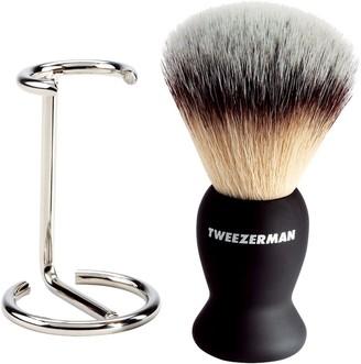 Tweezerman Shaving Brush & Stand