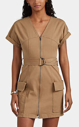 A.L.C. Women's Bellamy Cotton Belted Minidress - Brown