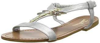 3e0958fa1c6 Joe Browns Womens Metallic Dragonfly T-Bar Sandals