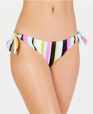 Hula Honey Soul Stripe Printed Side-Tie Hipster Bottoms