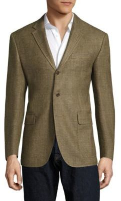 Polo Ralph LaurenPolo Ralph Lauren Regular-Fit Harvard Wool & Silk-Blend Blazer