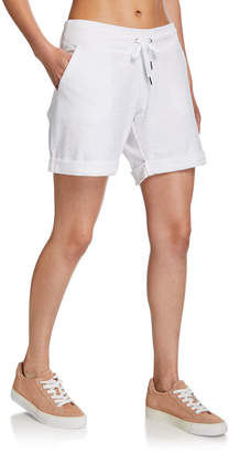 Calvin Klein Cuffed Shorts with Baby Boucle Slant Pocket