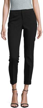 Saks Fifth Avenue BLACK Women's Cropped Solid Pants