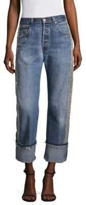 KENDALL + KYLIE Vintage Cotton Jeans